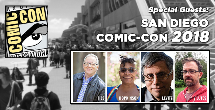 We will be in San Diego Jul 20 and 21 2018 !
