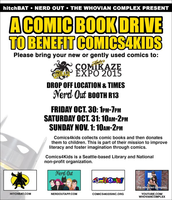 Our Friends at Stan Lee's Comikaze Expo '15 NERD OUT collected comics for us Halloween weekend in LAS VEGAS!