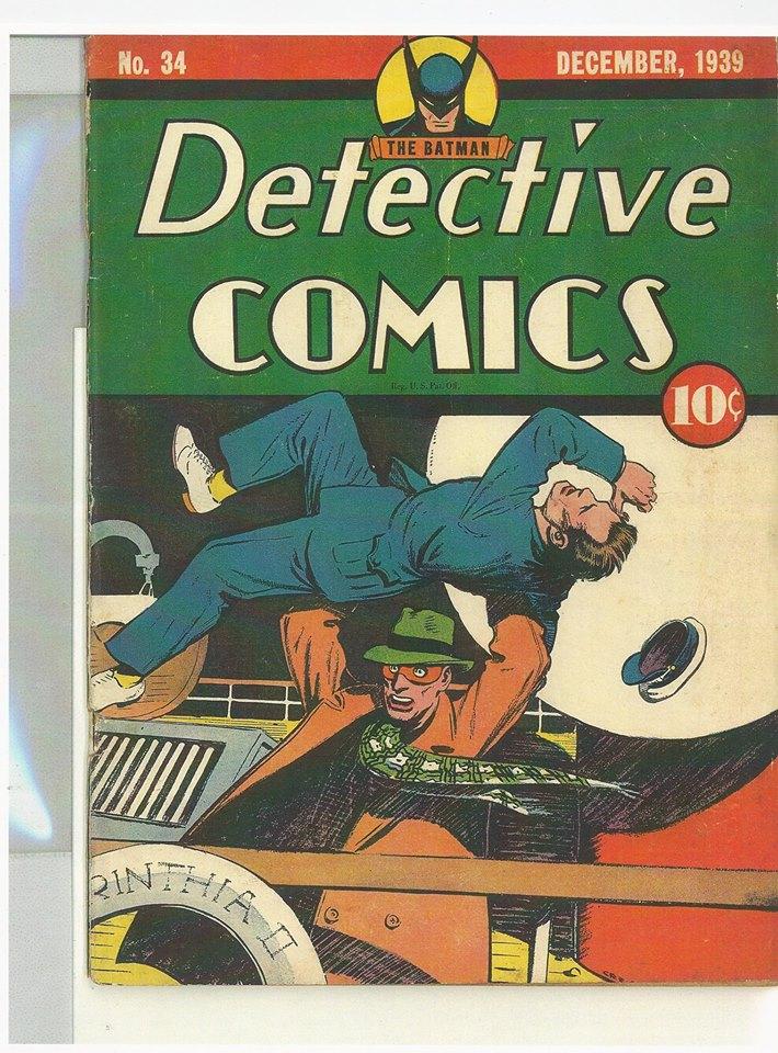 Detective Comics # 34
